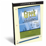 Greek for Children Answer Key