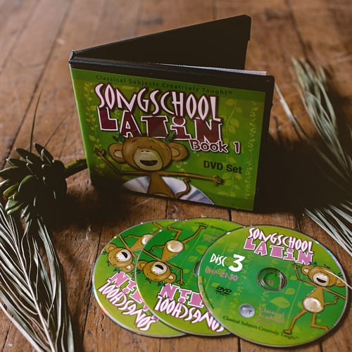 SongSchool Latin DVD Set