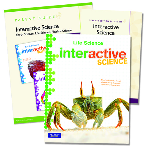 Interactive Science Life Science Homeschool Bundle from Pearson Homeschool  - Curriculum Express