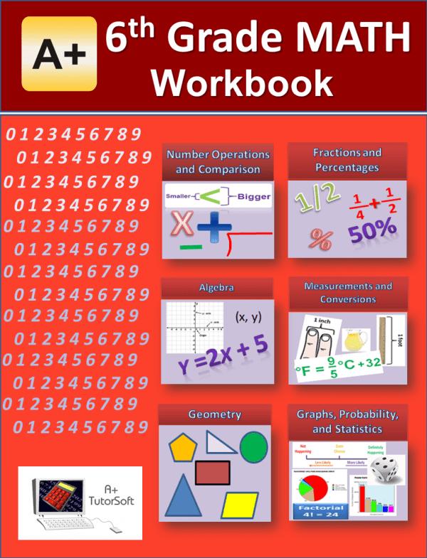 6th Grade Math Workbook from A+ Interactive Math